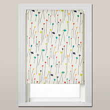 Buy Harlequin Fleur Roller Blind, Chain Mechanism, Multi Online at johnlewis.com