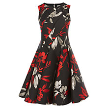 Buy Coast Monique Jacquard Tella Dress, Multi Online at johnlewis.com