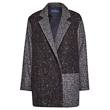 Buy French Connection Fast Terence Tweed Patch Coat, Multi Online at johnlewis.com