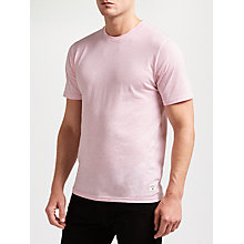 Buy Carhartt WIP Holbrook Short Sleeve T-Shirt, Vegas Pink Heather Online at johnlewis.com