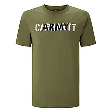 Buy Carhartt WIP CA Training T-Shirt, Rover Green/Broken White Online at johnlewis.com