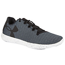 Buy Under Armour Street Precision Low Speckle Cross Women's Trainers, Black Online at johnlewis.com