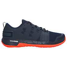 Buy Under Armour Resolve Men's Cross Trainers, Navy Online at johnlewis.com