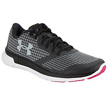 Buy Under Armour Charged Lightning Women's Running Shoes, Black Online at johnlewis.com