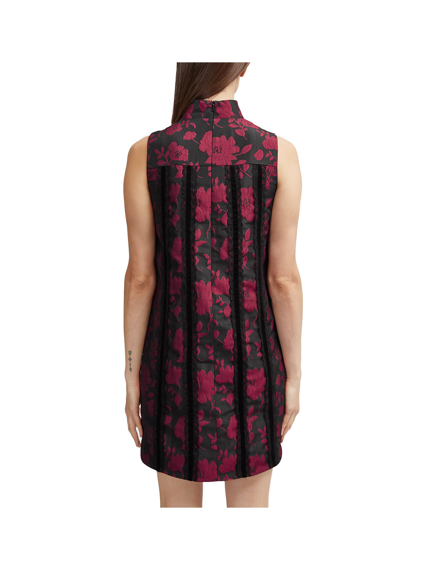 BuyFrench Connection Betty Brocade Tunic Dress, Multi, 6 Online at johnlewis.com