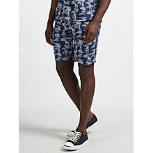 Buy Carhartt WIP Pine Shorts, Blue/White Online at johnlewis.com