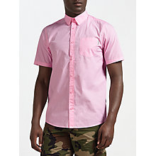 Buy Carhartt WIP Wesley Short Sleeve Shirt, Vegas Pink Online at johnlewis.com