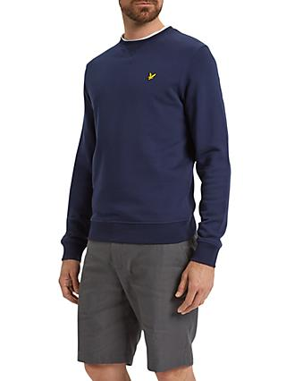 Lyle & Scott Crew Neck Sweatshirt, Navy
