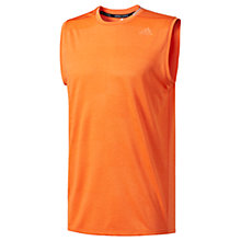 Buy Adidas Supernova Running Tank, Orange Online at johnlewis.com