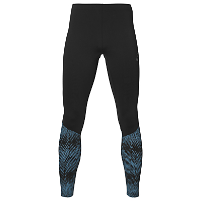Asics Race Running Tights, Blue/Black