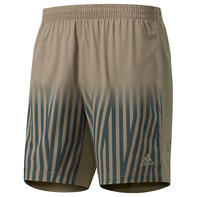 Adidas Supernova Graphic Training Shorts, Brown