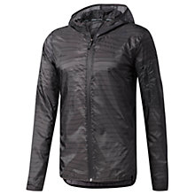 Buy Adidas Supernova TKO Flock-Print Training Jacket, Black Online at johnlewis.com