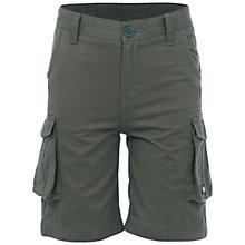 Buy Animal Boys' Bro Walk Shorts, Slate Grey Online at johnlewis.com