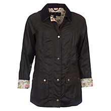 Buy Barbour Monteviot Waxed Jacket Online at johnlewis.com