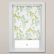 Buy Sanderson Wisteria Blossom Roller Blind, Spring Mechanism Online at johnlewis.com