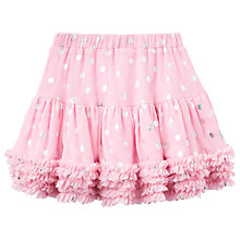 Buy Little Joule Girls' Lillian Tutu Skirt, Rose Online at johnlewis.com