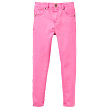 Buy Joules Girls' Linnet Denim Jeans, Pink Online at johnlewis.com
