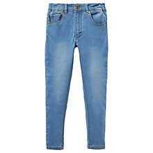 Buy Little Joule Girls' Linnet Denim Jeans, Light Blue Online at johnlewis.com
