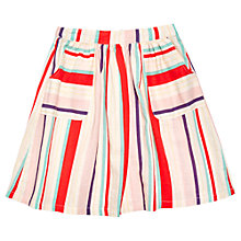 Buy Margherita Kids Girls' Multi Colour Stripe Skirt, Multi Online at johnlewis.com
