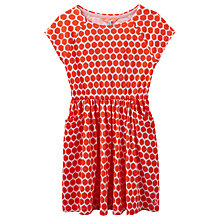Buy Little Joule Girls' Jude Geo Spot Print Dress, Multi Online at johnlewis.com