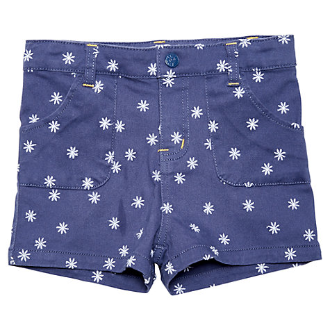Buy Margherita Kids Girls' Daisy Embroidery Shorts Online at johnlewis.com