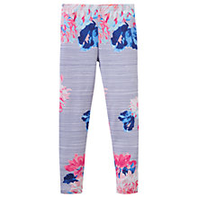Buy Little Joule Girls' Deedee Floral Stripe Legging, Blue Online at johnlewis.com