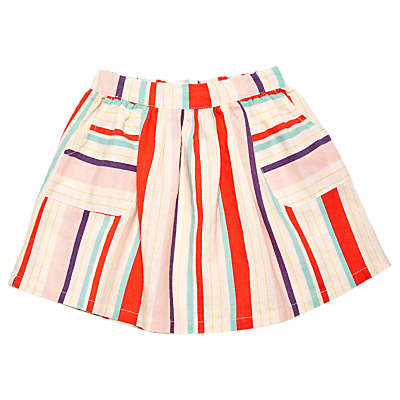 Product photo of Margherita kids baby multi colour stripe skirt multi