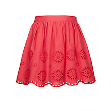 Buy John Lewis Girls' Broderie Skirt Online at johnlewis.com
