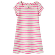 Buy Little Joule Girls' Riviera Stripe Dress, Red Online at johnlewis.com