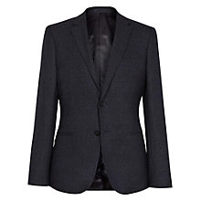 Buy Reiss Jennings Tonal Check Blazer, Navy Online at johnlewis.com