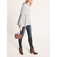 Buy AND/OR Abbot Kinney Skinny Jeans, Deja Blue Online at johnlewis.com