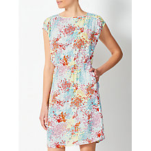 Buy Collection WEEKEND by John Lewis Confetti Floral Dress,  Pink/Yellow Online at johnlewis.com