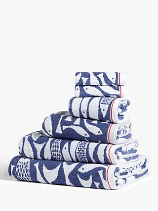John Lewis & Partners Shoal of Fish Towels