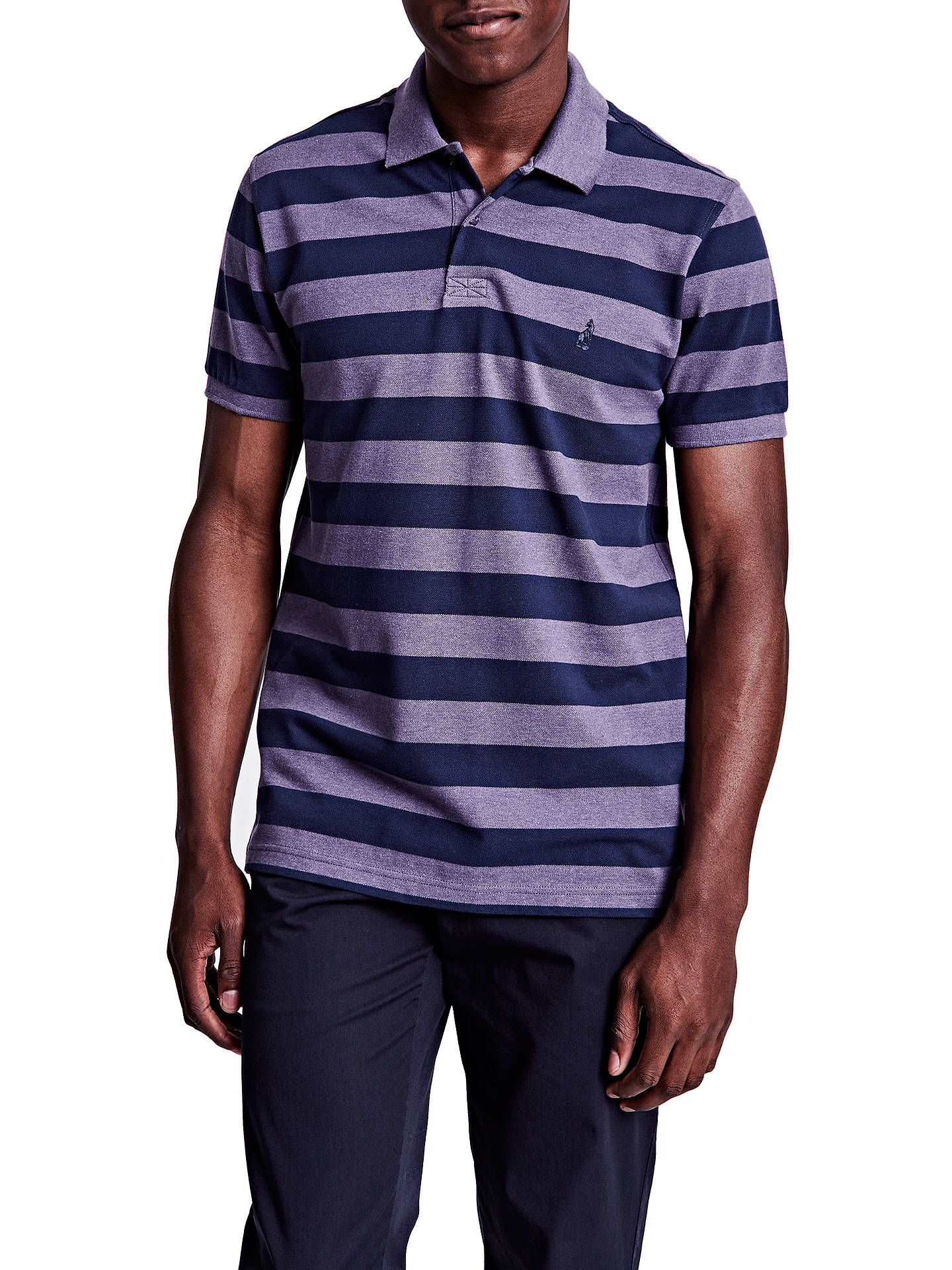 Thomas Pink Harmer Stripe Polo Shirt At John Lewis Partners