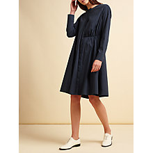 Buy Modern Rarity palmer//harding Side Tie Dress, Navy Online at johnlewis.com