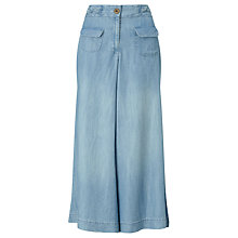 Buy Somerset by Alice Temperley Denim Culottes, Blue Online at johnlewis.com