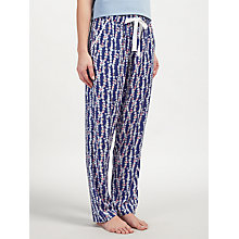 Buy John Lewis Sarita Print Pyjama Bottoms, Navy/Multi Online at johnlewis.com