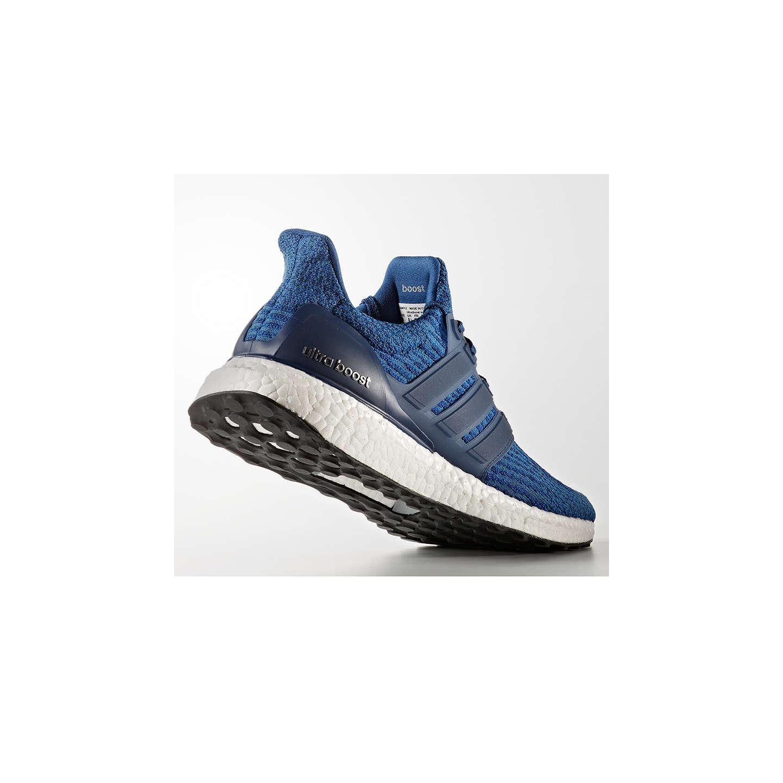 Adidas Ultra Impulso Uomini Scarpe Da Corsa, Blu / Nero John Lewis