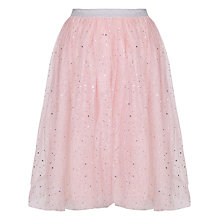 Buy Yumi Girl Mesh Tutu Skirt, Pink Online at johnlewis.com