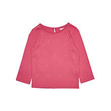 Buy Jigsaw Girls' Diamante Long Sleeve Top Online at johnlewis.com