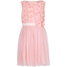 Buy Yumi Girl Rose Prom Dress, Pink Online at johnlewis.com
