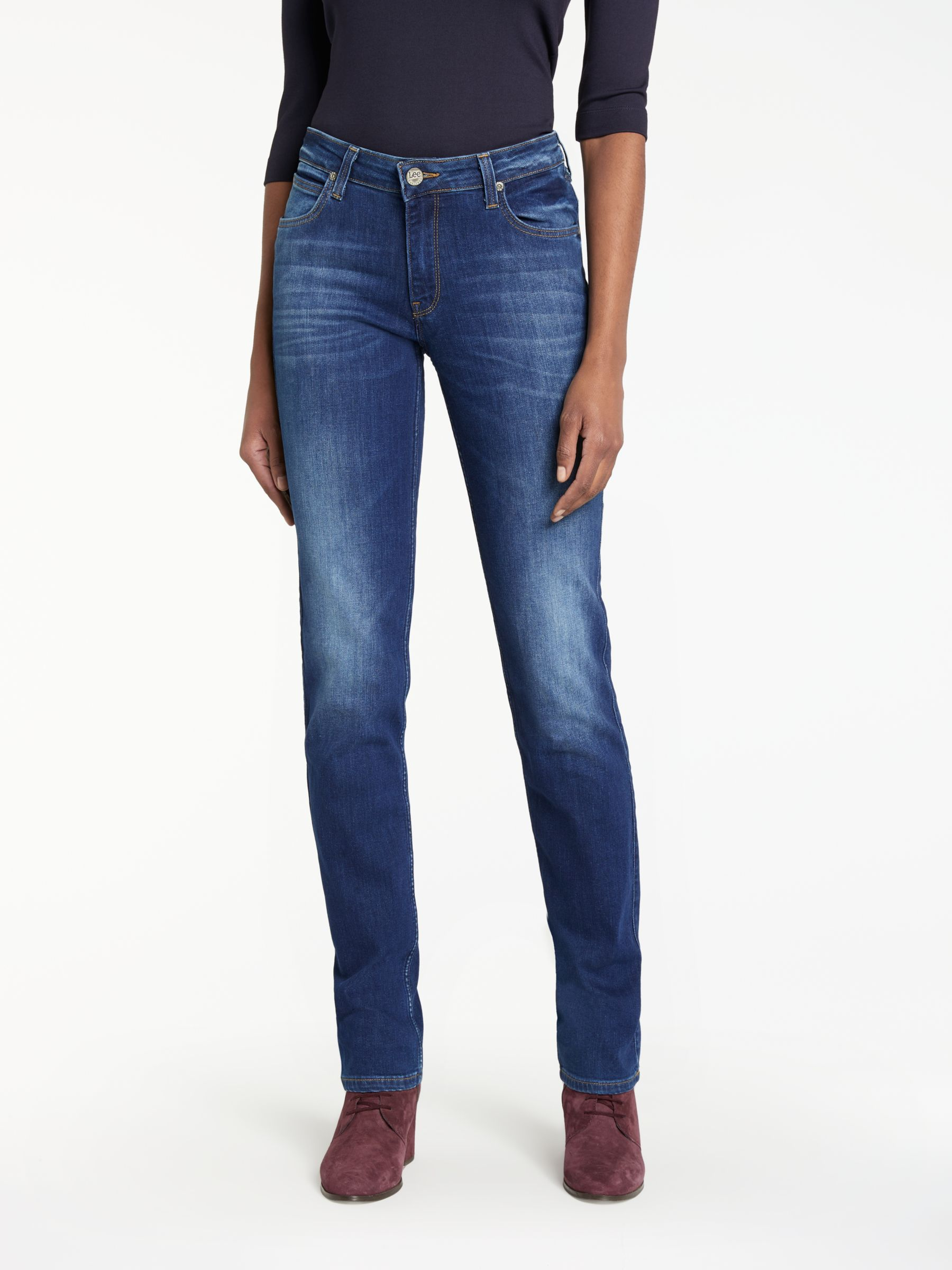 Lee Lee Marion Regular Straight Leg Jeans