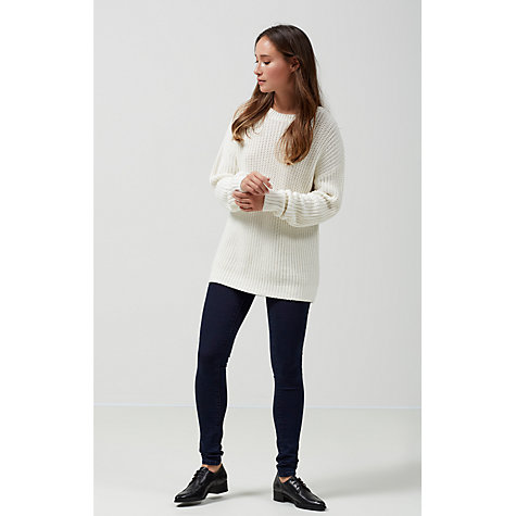 Buy Selected Femme Gaia Skinny Jeggings, Blackberry Blue Online at johnlewis.com
