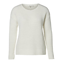 Buy Selected Femme Flora Jumper, Snow White Online at johnlewis.com