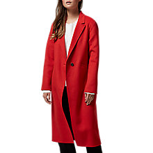Buy Selected Femme Mimi Coat, Flame Scarlett Online at johnlewis.com
