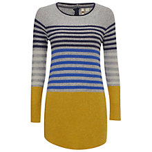 Buy White Stuff Ice Tipped Tunic Jumper, Dandelion Yellow Online at johnlewis.com