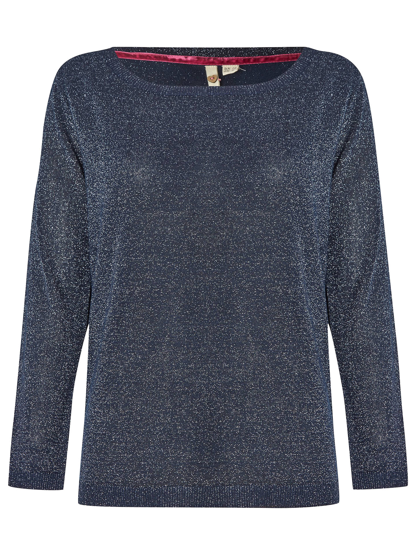 BuyWhite Stuff Astonish Jumper, Navy, 6 Online at johnlewis.com