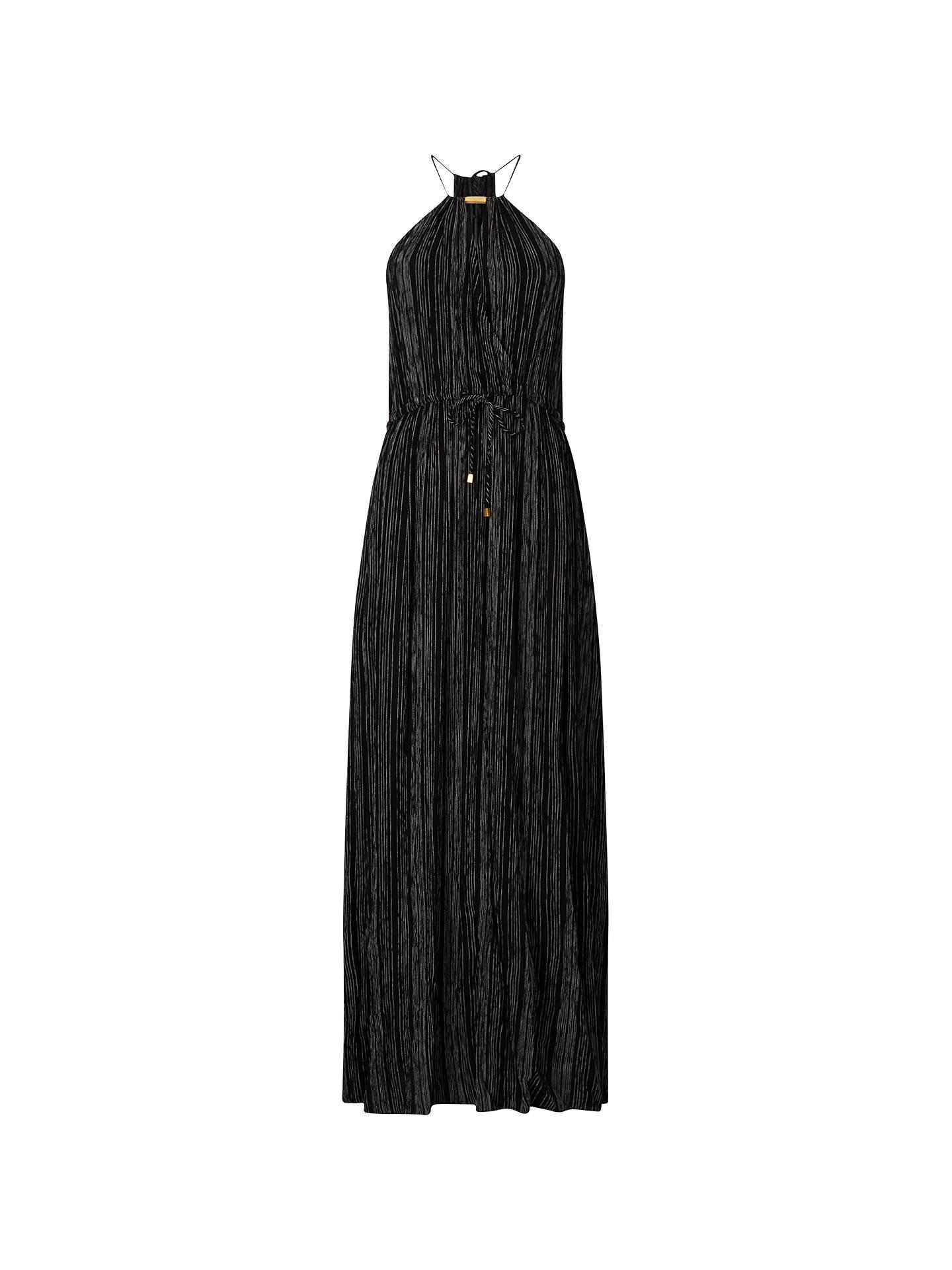 Phase Eight Kirstie Stripe Maxi Dress, Black/