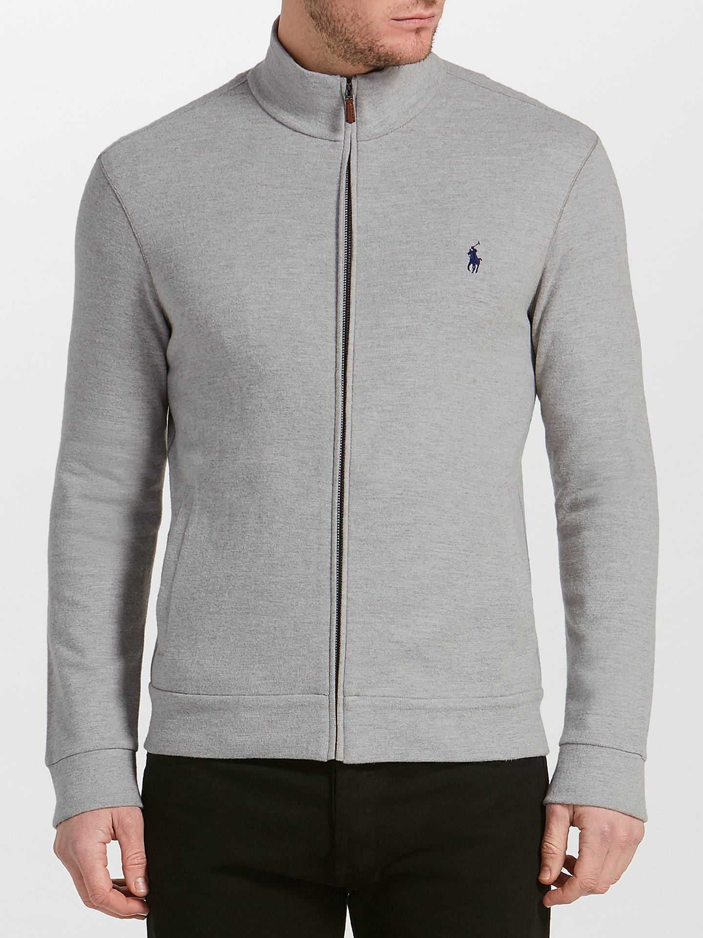 f36df3dbe2973 Buy Polo Ralph Lauren Full-Zip Knitted Track Top