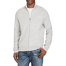 Buy Polo Ralph Lauren Cotton Full Zip Jumper Online at johnlewis.com
